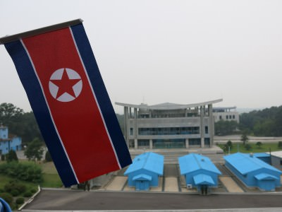 north korea border panmunjom