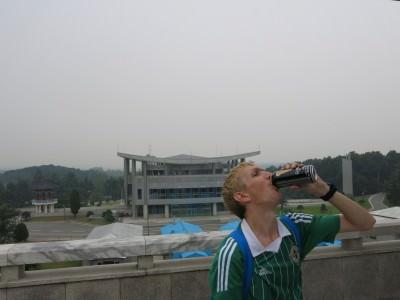 north korea border guinness