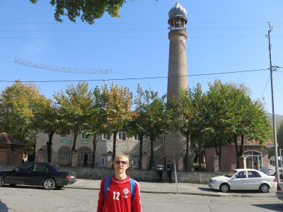 seki cume mosque azerbaijan