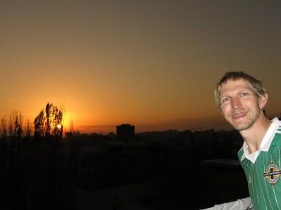 yerevan sunset penthouse