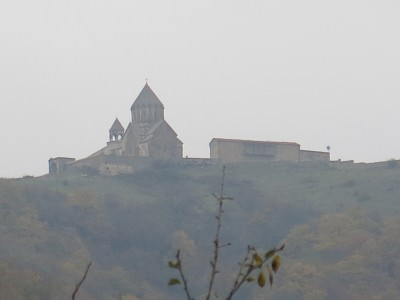 gandzasar viewed from vank