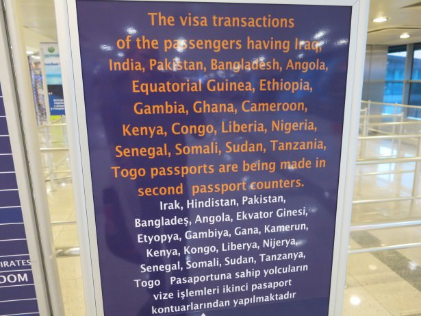 turkish visa extra conditions