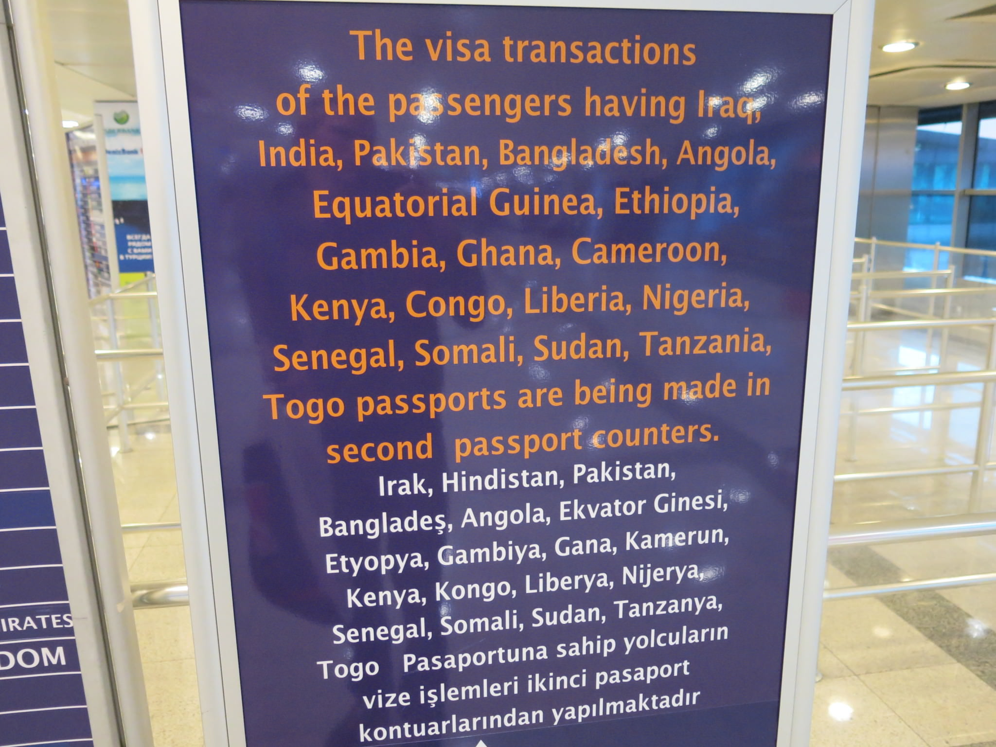 Getting A Turkish Visa On Arrival At Istanbul Airport Turkey