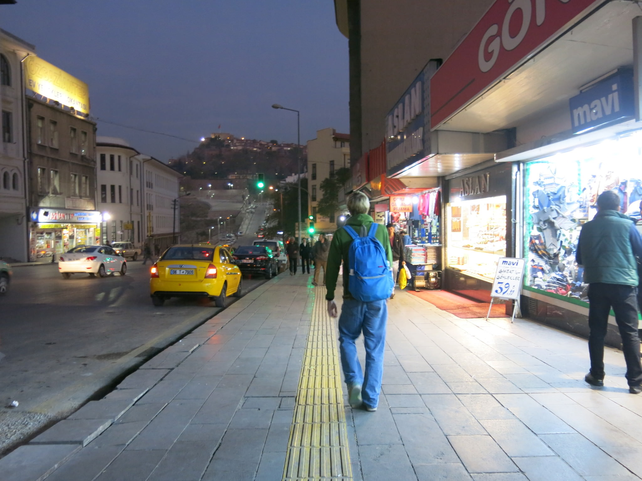 ankara turkey istanbul backpacking