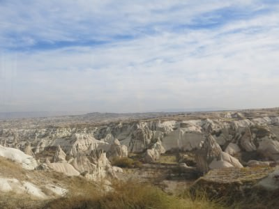 cappadocia turkey moonscapes