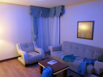 lounge in room at otel senbayrak
