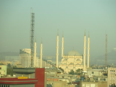 adana turkey mosque view
