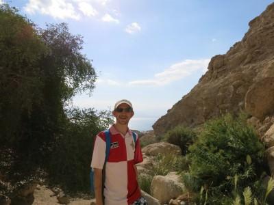 ein gedi hiking