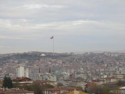 ankara turkey flag