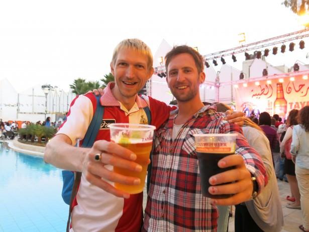 andy beers jerusalem hostel