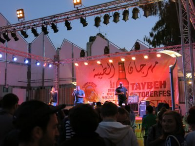 taybeh beer festival stage