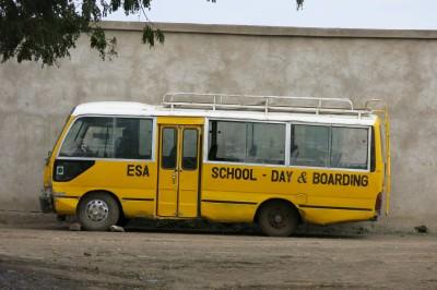 school bus tanzania