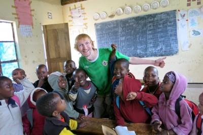 jonny blair school africa