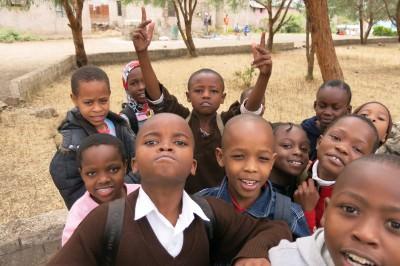 esa school tanzania kids