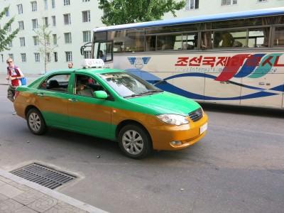 pyongyang taxis