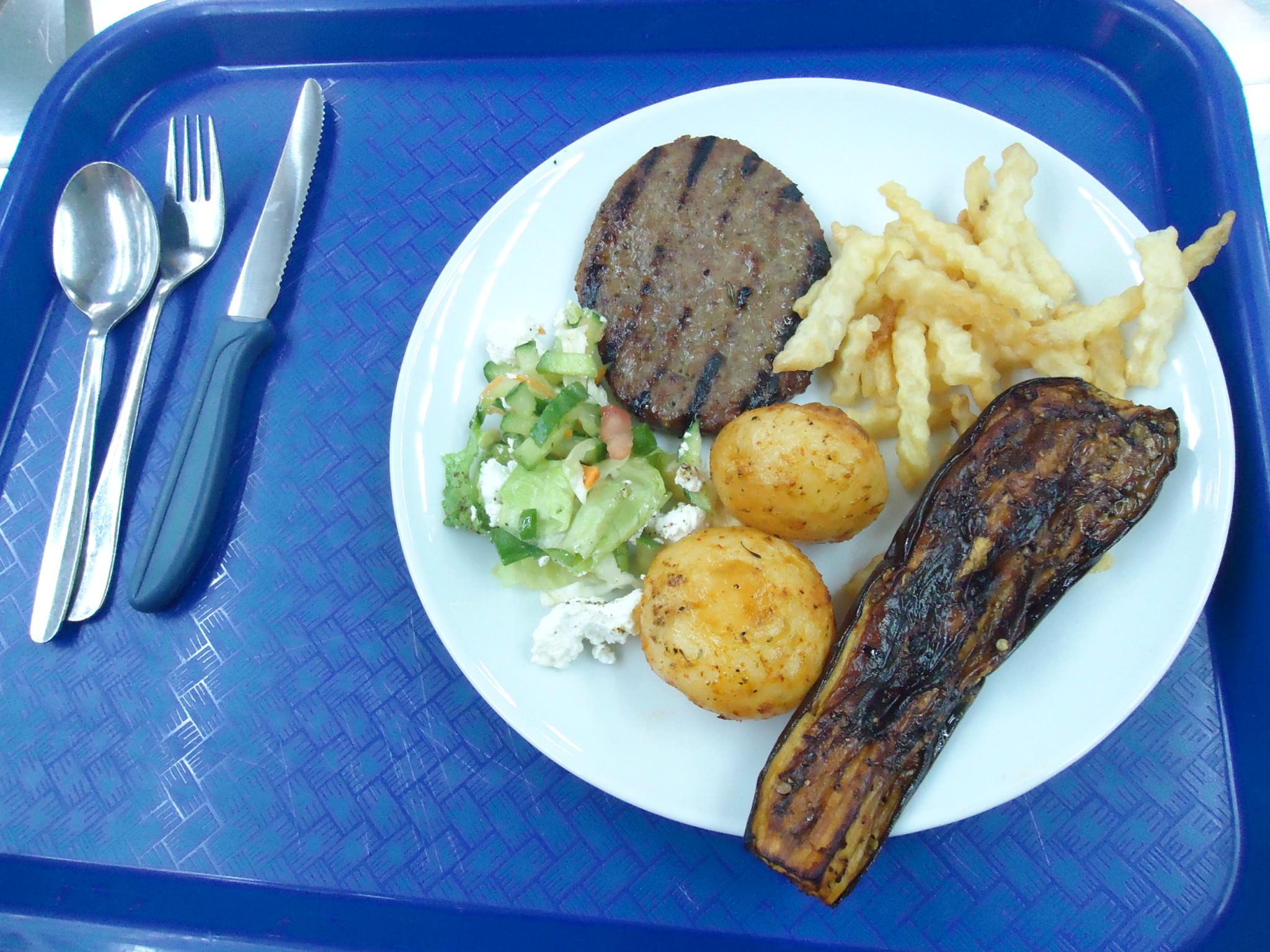 lunch in mizra kibbutz