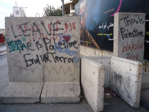 cross into Palestine