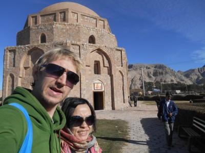 kerman iran gonbad building