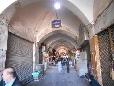 bazaar kerman iran