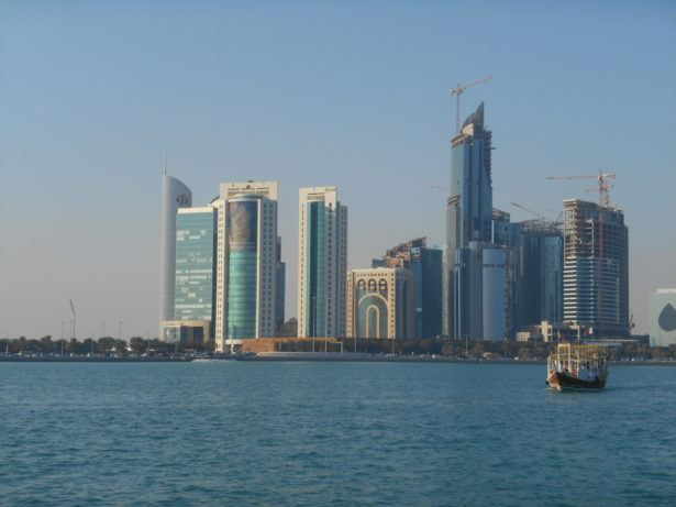 Skyscrapers in Doha, Qatar