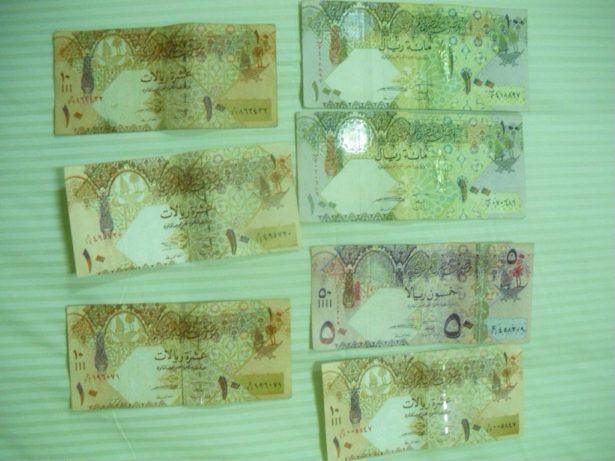 Qatari Riyals