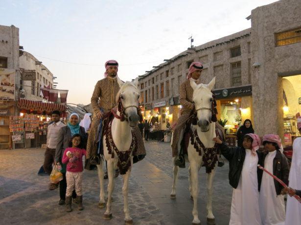 Horses in Doha, Qatar