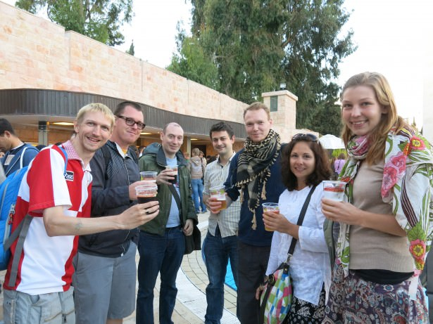 palestine beer festival party