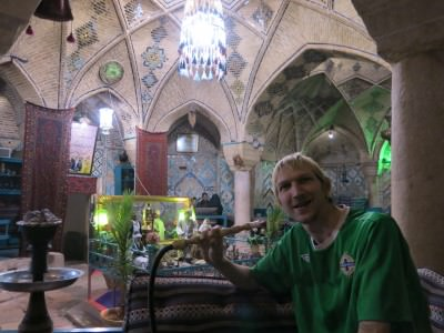bath house tea in kerman