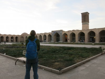 backpacking in iran kerman