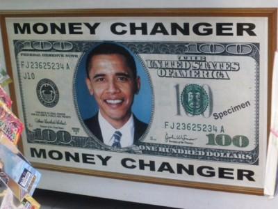 money travels south america obama