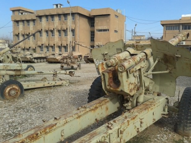 saddam husseins war machines in sulaymaniyeh iraq