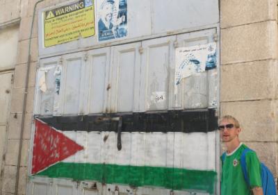 jonny blair backpacking palestine