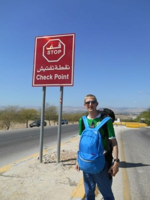 police checkpoint jordan