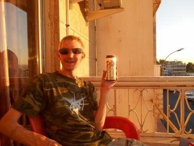 sunset petra beer