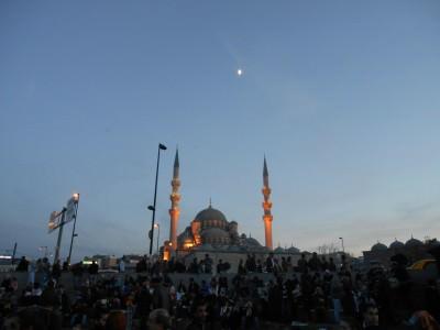 istanbul at night turkey