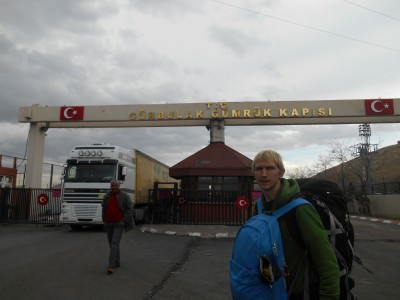 gurbulak turkey to iran border