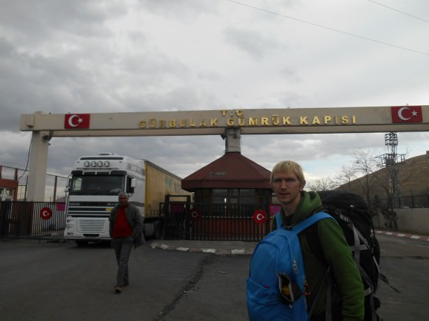 gurbulak turkey to iran border