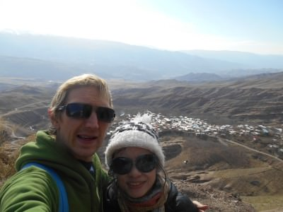 panny and i at alamut castle