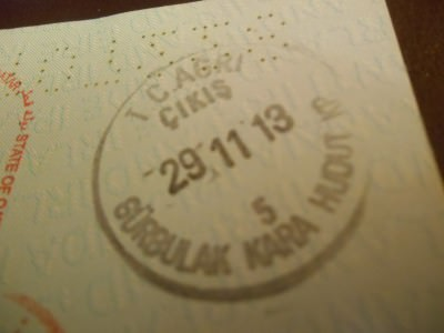 gurbulak turkey stamp