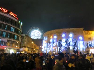 new years eve fireworks iraq erbil