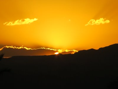 aqaba sunset jordan