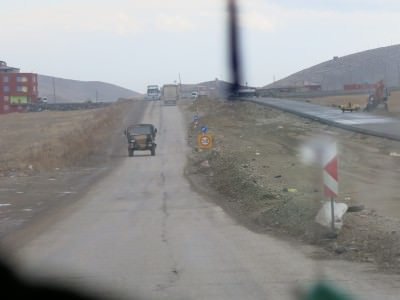 gurbulak to iran border