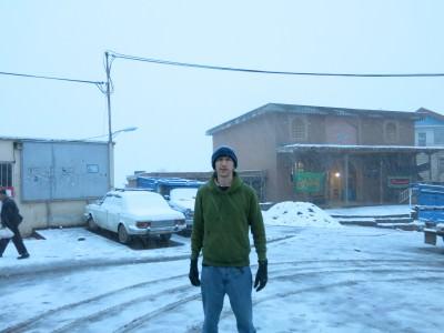 gazor khan snow