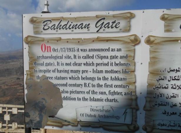 fortress bahdinan gate amadiya