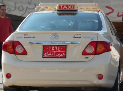 kurdistan taxi