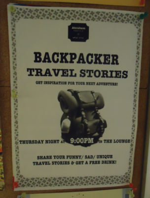 backpacker stories