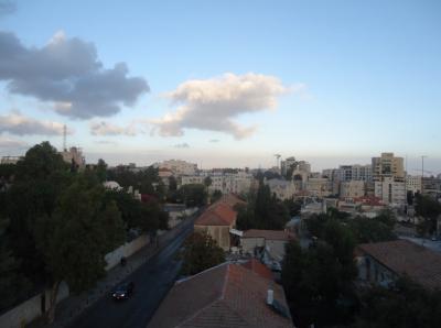 jerusalem israel abraham hostel view