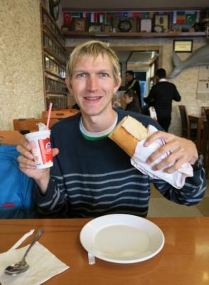 fish sandwich istanbul