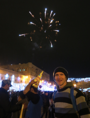 fireworks in erbil kurdistan