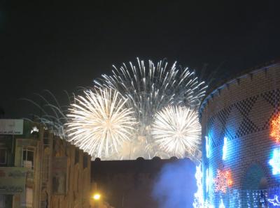 erbil kurdistan fireworks